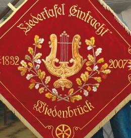 Unsere Vereinsfahne (rot)